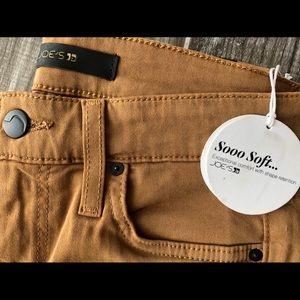 NWT Joe's Jeans Khaki Colored Women's Legngs/Jeans